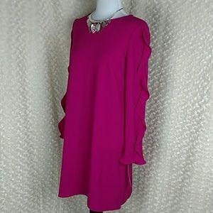 Maggy London pink dress